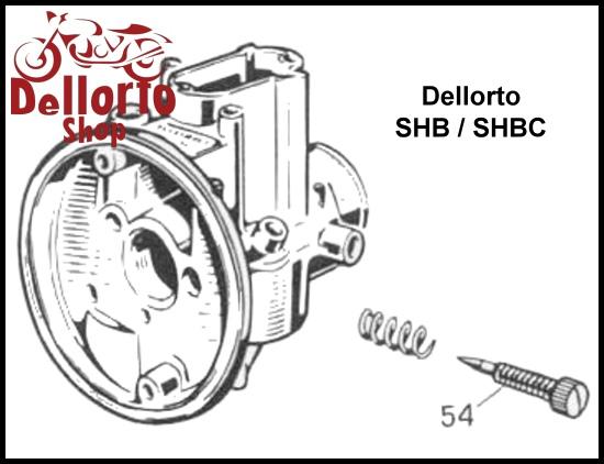 dellorto shb and shbc carburetor parts