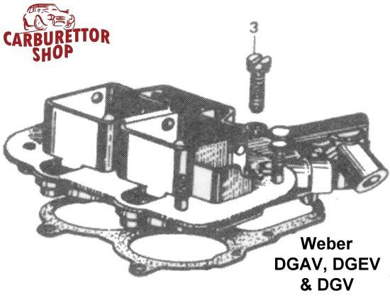 weber dgav  dgev and dgv carburetor parts