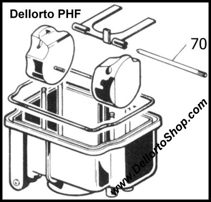Dellorto Phf Carburetor Parts
