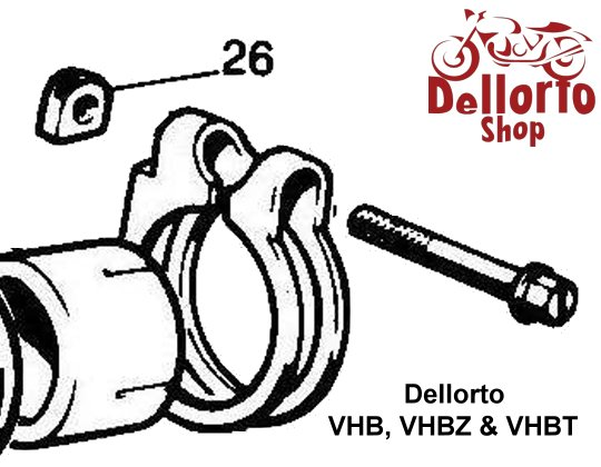 Dellorto Vhb Vhbt And Vhbz Carburetor Parts