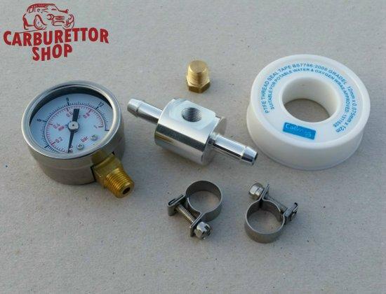 in_line_fuel_pressure_gauge_kit_ds sytec in line fuel pressure gauge kit 0 15 psi 0 1 bar