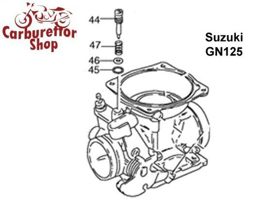 suzuki carburetor parts  rebuild kits and service sets