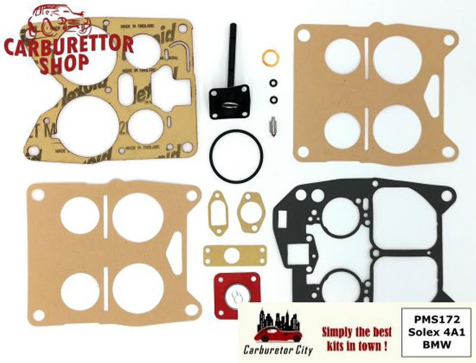 Rebuild Kit for Solex 4A1 32-54 carburetors for BMW 628 - PMS172