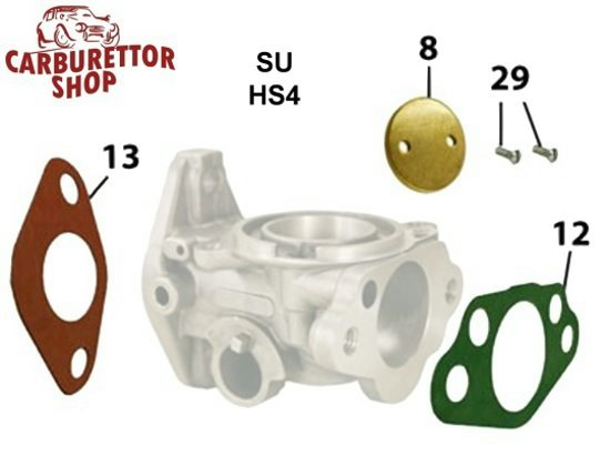 SU Carburator parts for tags AUD325