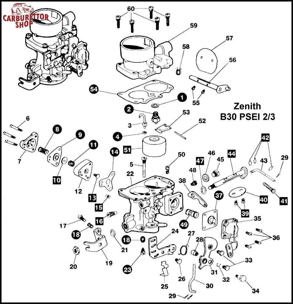 Zenith Tca2 Carburetor Float Exploded Diagram – name